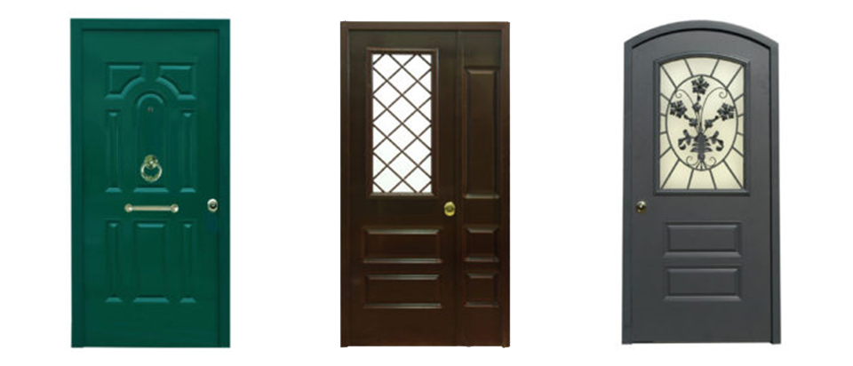 Porte artigianali da interni per appartamenti